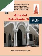 DOC UNFV 2018 Guía del estudiante de derecho