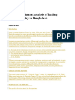 Financial statement analysis of leading leasing industry in Bangladesh