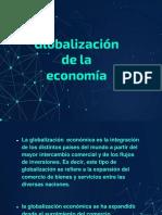 TRABAJO DE LA GLOBALIZACION DE LA ECONOMIA