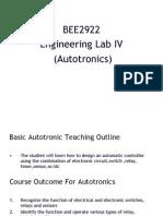 Autotronics NOTES