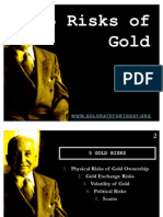 5 Risks of Gold
