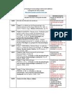cronograma aulas e textos remoto Psicologia Fenomenológica II 2021.1