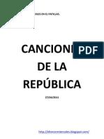 Canciones de la República