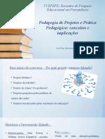 Pedagogia de Projetos- Artigo