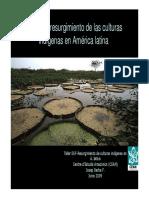 Resurgimiento Culturas Indigenas ALatina