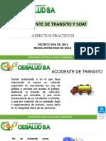 2. ACCIDENTE DE TRANSITO Y SOAT