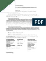 CLASIFICACIÓN DE PRODUCTOS MICROELECTRÓNICOS