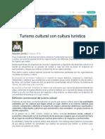 Articulo_turismo Cultural Con Cultura Turística