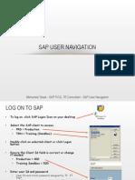 SAP Navigation