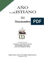 AÑO CRISTIANO 11 (NOVIEMBRE) (BAC 2006) - Lamberto Echevería, Bertnardino Llorca, J. Luis Repetto Betes