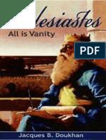 (Eclesiastes) Todo Es Vanidad - Jacques Doukhan