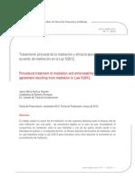 Dialnet-TratamientoProcesalDeLaMediacionYEficaciaEjecutiva-4407141