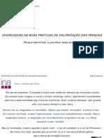 13ª Sessão - Valorização das pessoas - José M Seruya