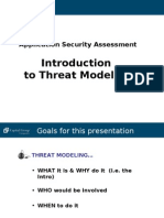 Approach to Threat Modeling
