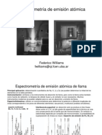 espectroscopia de emision atomica en plasma