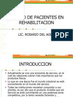 Manejo pacientes en rehabilitacion