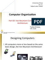 Part 03 - Von-Neumann Computer Architecture