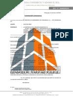 CARTA N° 003-2019-EPS ILO -INICIO DE OBRA