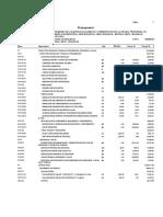 Presupuesto Estructuras Unam-e