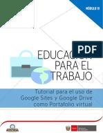 Tutorial para crera google drive