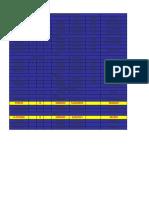 Tabela Grêmio LBO