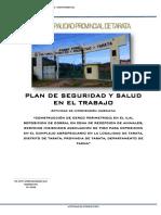 PLAN DE SEGURIDAD CAMPO FERIAL