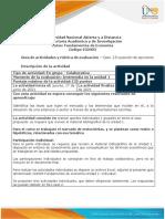 Guía de Actividades y Rúbrica de Evaluación - Unidad 1 - Caso 2 - Exposición de Opiniones