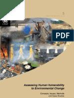 UNEP AssessingHumanVulnerability