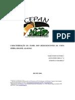 FLORA SERRA GRANDE-AL- RELATÓRIO CEPAN