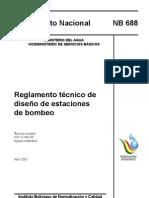 Reglamento de diseño de estaciones de bombeo