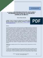 Dialnet-LaInvestigacionEducativaEnLosPlanesYProgramasDeEst-6551963