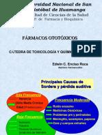 FÁRMACOS OTOTÓXICOS