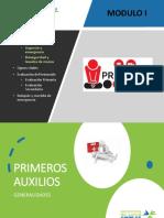 MODULO I   PRIMEROS AUXILIOS-GENERALIDADES