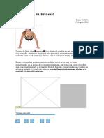 10 porunci in Fitness