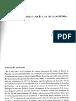 Usos del testimonio y políticas de memoria en Chile. Jaume Peris Blanes