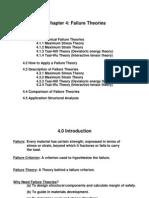 Composite Failure Theories