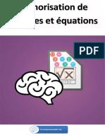 Mémorisation de formules et équations