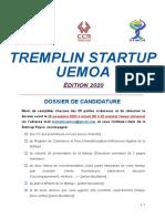 Dossier de candidature_TREMPLINSTARTUPUEMOA2020_VF Niger