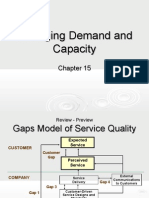 Chapter 15 - Managing Demand and Capacity (TM)