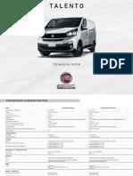 Fiat Talento Technische Daten 2017 DE