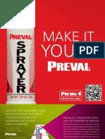 Preval Brochure Private Label