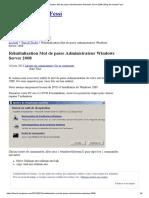 Réinitialisation Mot de Passe Administrateur Windows Server 2008 _ Blog de Hamza Fessi