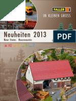 Faller Neu 2013