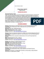 Public Policy Update 3-25-11