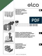 VG 6.1600, 6.2100 DP.TC Tech. data, spare parts, electric diagrams