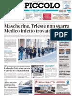 Il Piccolo Trieste 5 Aprile 2020