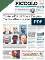 Il Piccolo Trieste 02 Aprile 2020
