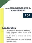 Nursing Leadership and Management 2