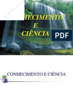 Conhecimento e Ciência -