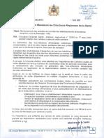 Circulaire N° 021-15 DELM-15 du 1er avril 2021